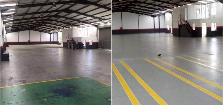 Food grade epoxy floor
